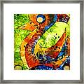 Abstraction 3198 Framed Print