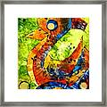 Abstraction 3199 Framed Print