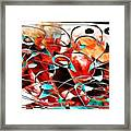 Abstraction 3423 Framed Print