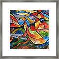 Abstraction 787 - Marucii Framed Print