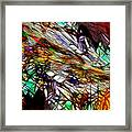 Abstracto En Dimension Framed Print
