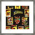 Adventures Of Superman Framed Print