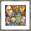 African Eclectic Framed Print