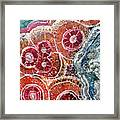 Agate Inspiration - 16a Framed Print