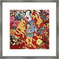 Agemaki Framed Print by Haruyo Morita