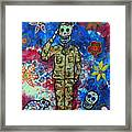 Air Force Day Of The Dead Framed Print