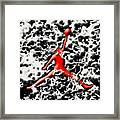 Air Jordan 5f Framed Print