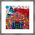 Alamo Mosaic Two Framed Print
