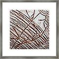 Aligned - Tile Framed Print