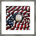 All American Framed Print