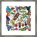 Amazon Insects Framed Print