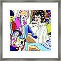 Jelly Roll Bob - Portraits Of Dylan Framed Print