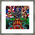 American Horror Story Freak Show Framed Print