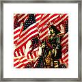 American Pirate Framed Print