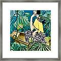 Among The Withered Lotus  Framed Print