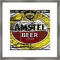 Amstel Beer Sign  Framed Print