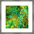 An Abstract World Framed Print