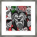 An American Werewolf In London Framed Print