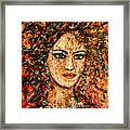 Ancient Woman Framed Print