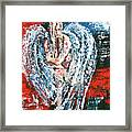 Angel In The Light Framed Print
