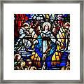Angelic Scene Framed Print