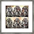 Angkor Warhol #1.2 Framed Print