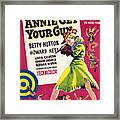 Annie Get Your Gun, Betty Hutton, 1950 Framed Print