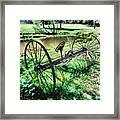 Antique Farm Equipment 3 Framed Print