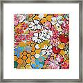 Apple Honeycomb Blossoms 201760 Framed Print