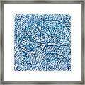 Aqua Minerale Framed Print