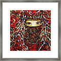 Arabian Eyes Framed Print