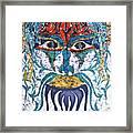 Archetypal Mask Framed Print