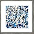 Arctic Frenzy Framed Print