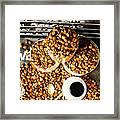 Art In Commercial Coffee Framed Print