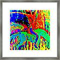 The Artist Of The Burning Rainbow  Framed Print
