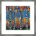 Aspen Grove By Olena Art Framed Print