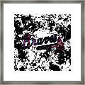 Atlanta Braves 1b Framed Print