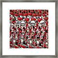Auburn College Band Framed Print