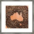 Australia Cafe Artwork Framed Print