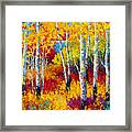 Autumn Dreams Framed Print by Marion Rose