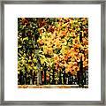 Autumn In Olde Virginia Framed Print