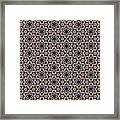 Awesome Mosaic Pattern Framed Print