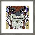 Awesome Otter Framed Print
