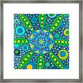 Ayahuasca Vision - Inside The Plant Cell  May 2015 Framed Print