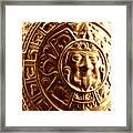 Aztec Gold Photograph Framed Print