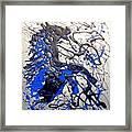 Azul Diablo Framed Print