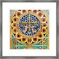 Azulejo - Colorful Details Framed Print