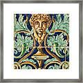 Azulejo Tile Framed Print