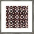 Azulejos Magic Pattern - 04 Framed Print