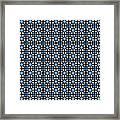 Azulejos Magic Pattern - 05 Framed Print